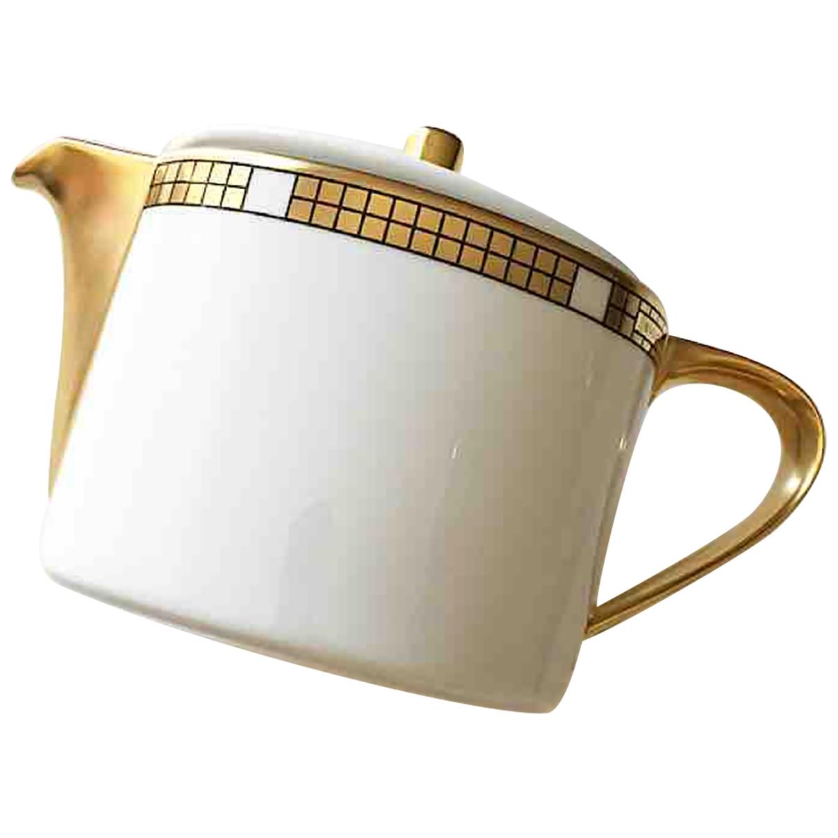 Juego de te/cafe de Porcelana Bvlgari