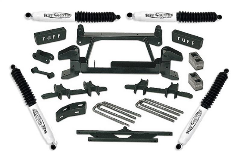 Tuff Country 14833KN Complete Kit (w/SX8000 Shocks)-4in.