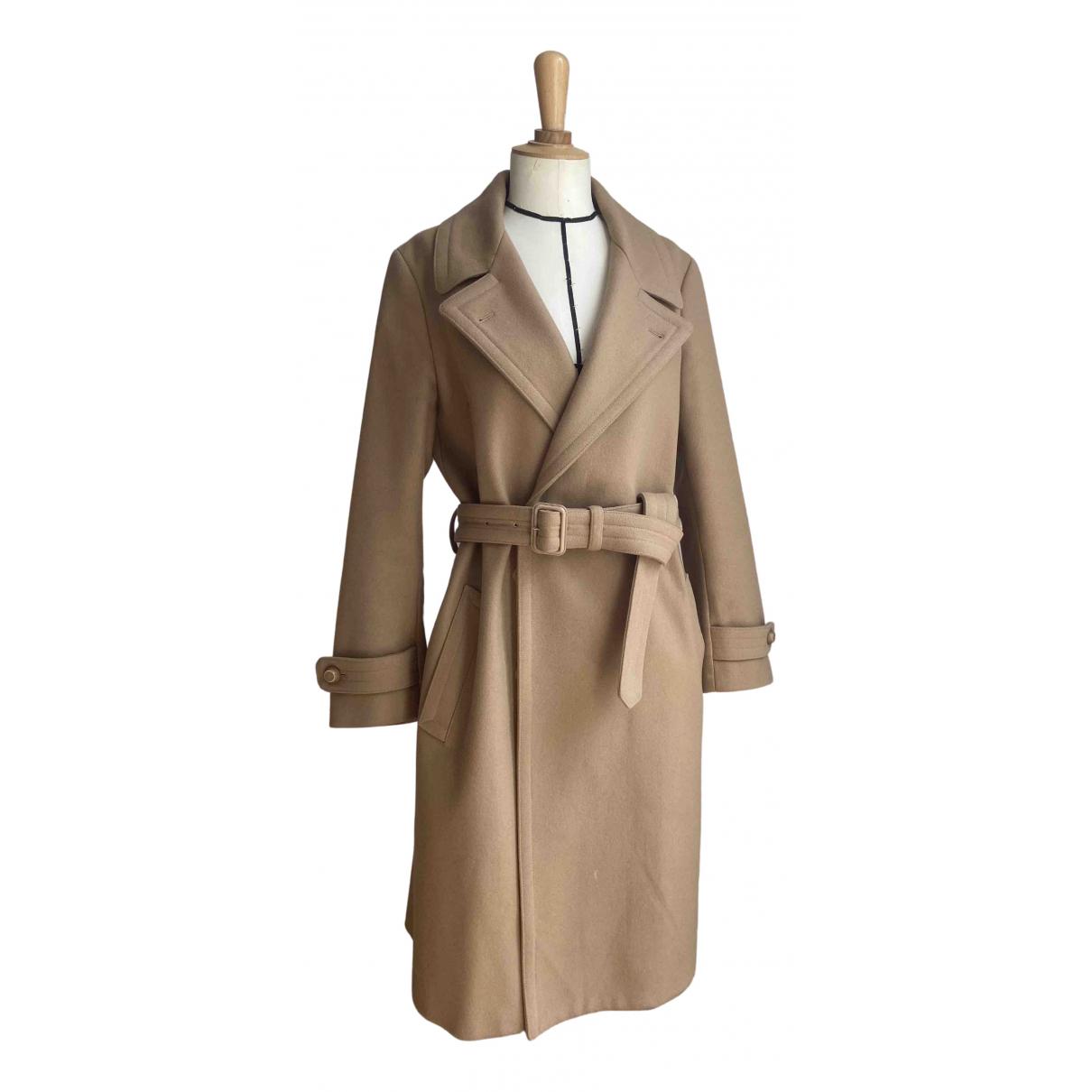Joseph - Manteau   pour femme en laine - beige