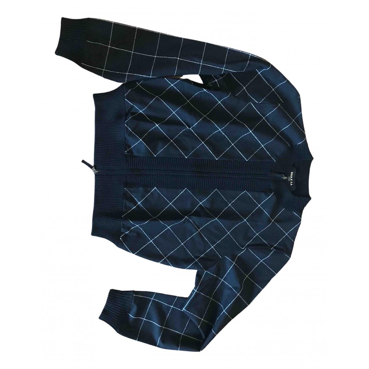 Paule Ka \N Black Wool Knitwear for Women XL International