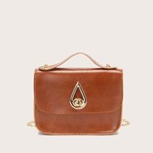 Handtasche mit Twist Schloss