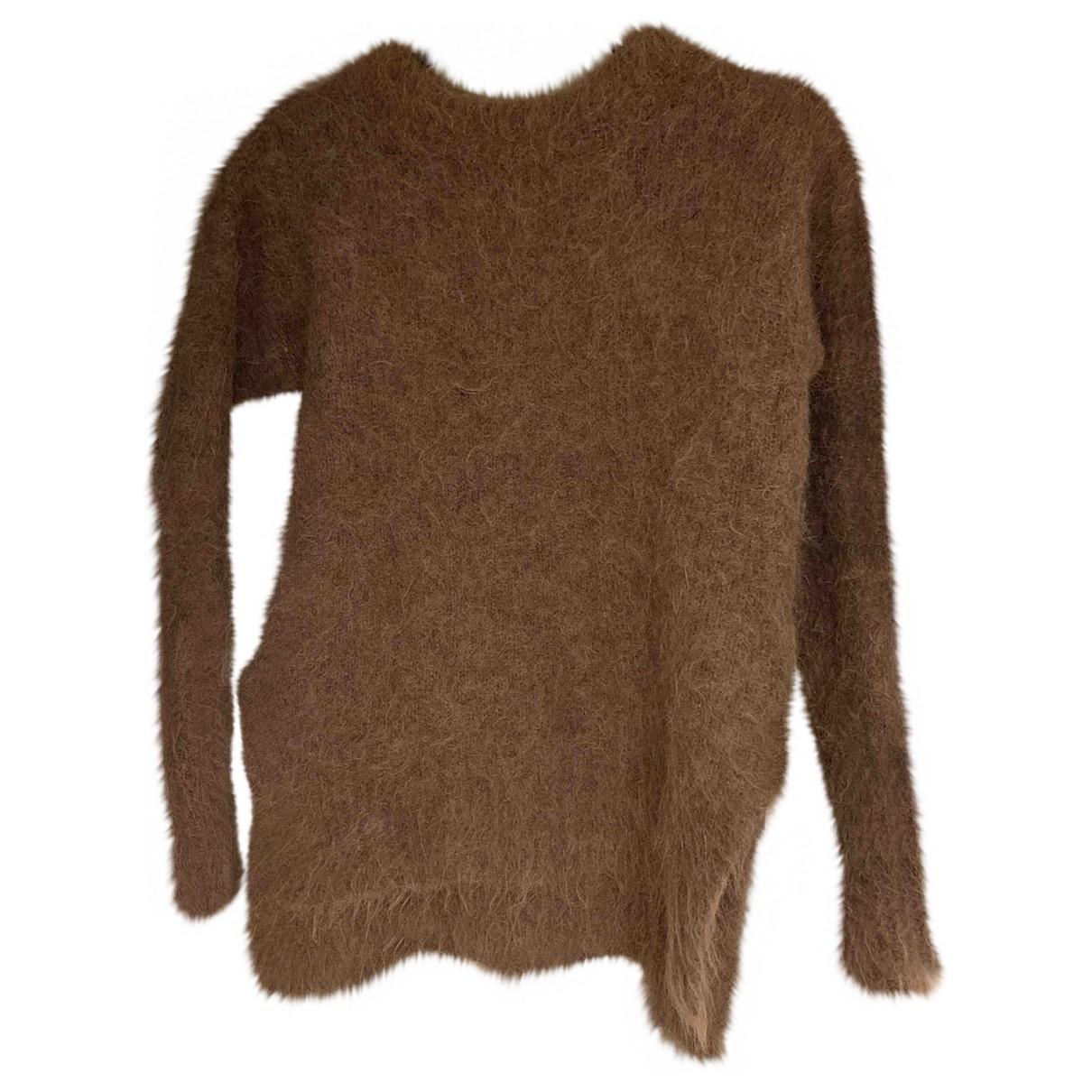 Whistles - Pull   pour femme en laine - beige
