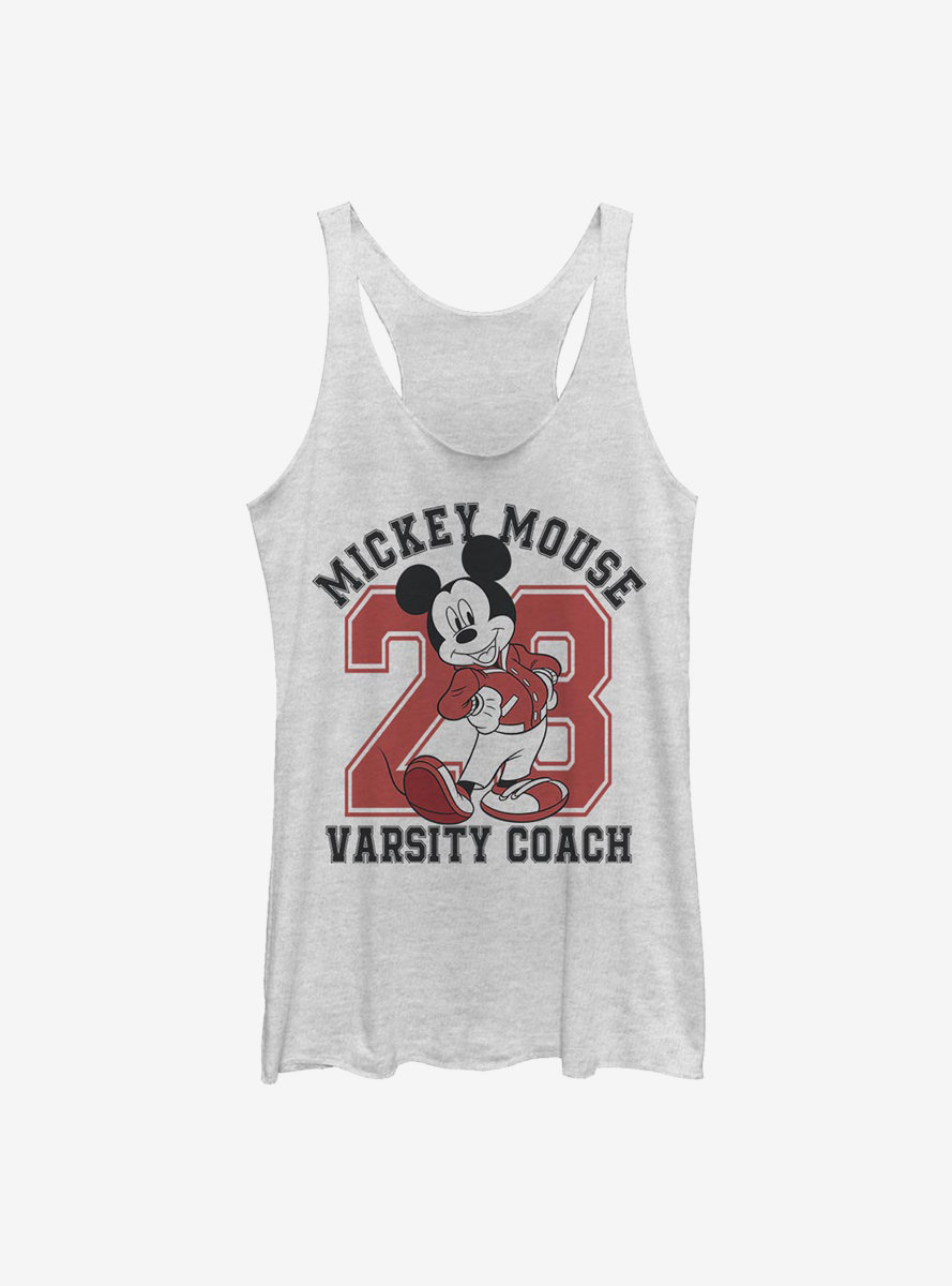 Disney Mickey Mouse Varsity Mouse Womens Tank Top