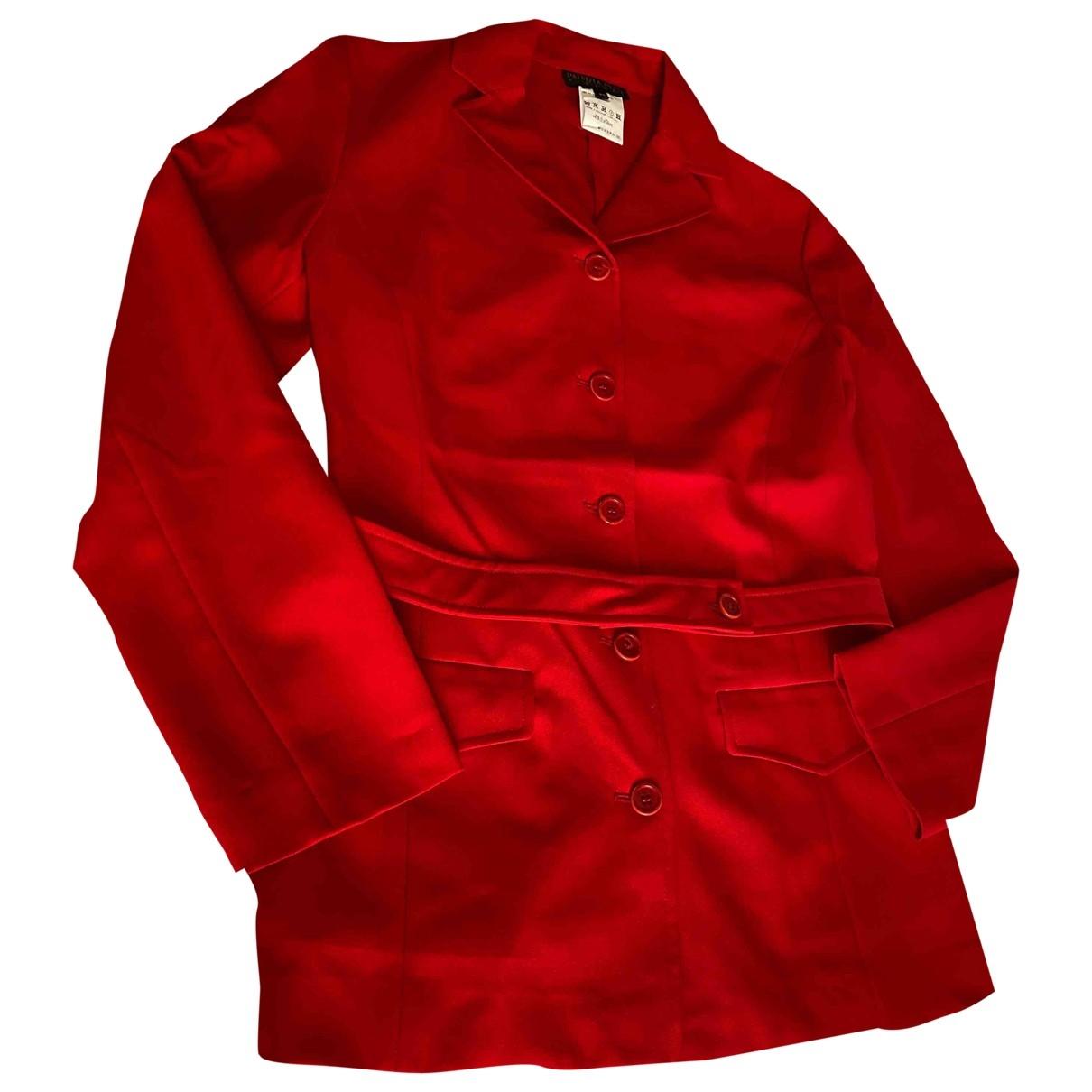 Patrizia Pepe \N Red jacket for Women 44 IT