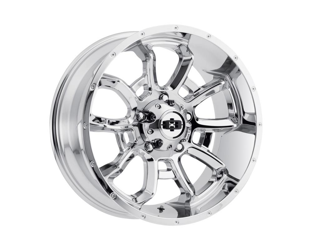 Vision Bomb Chrome Wheel 20x12 8x180 -51
