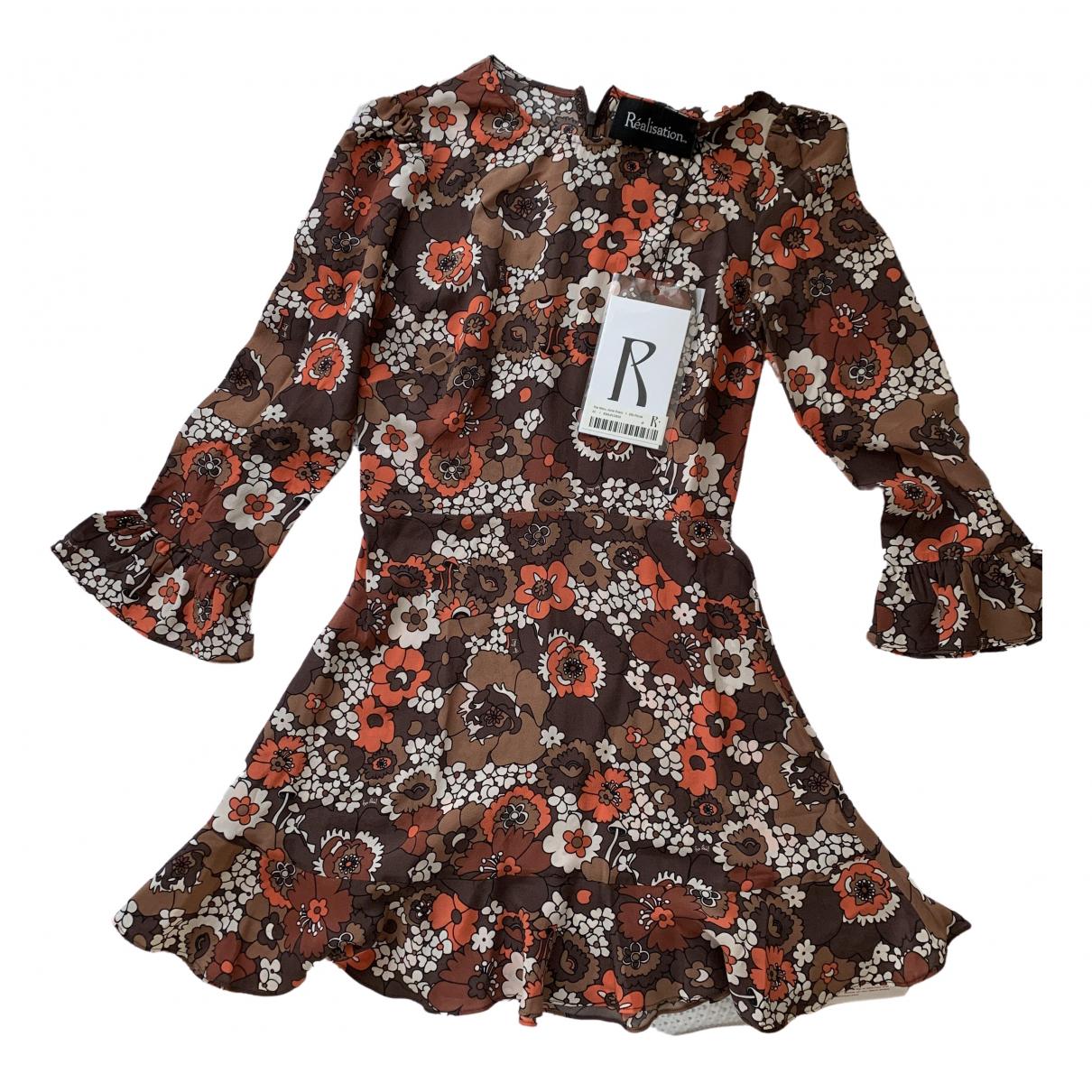 Mini vestido Mary Jane de Seda Realisation