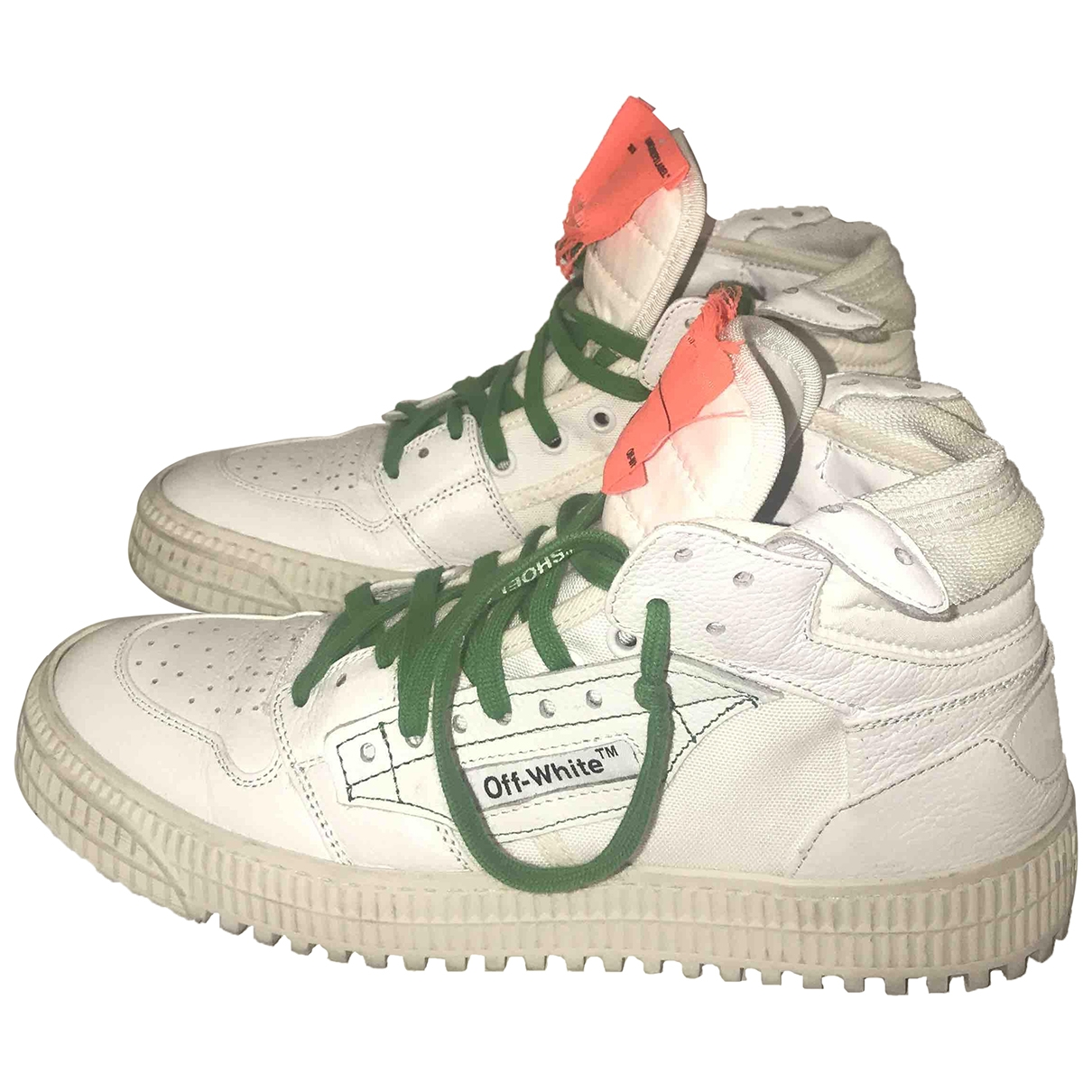 Off-white Off-Court White Leather Trainers for Women 40 EU