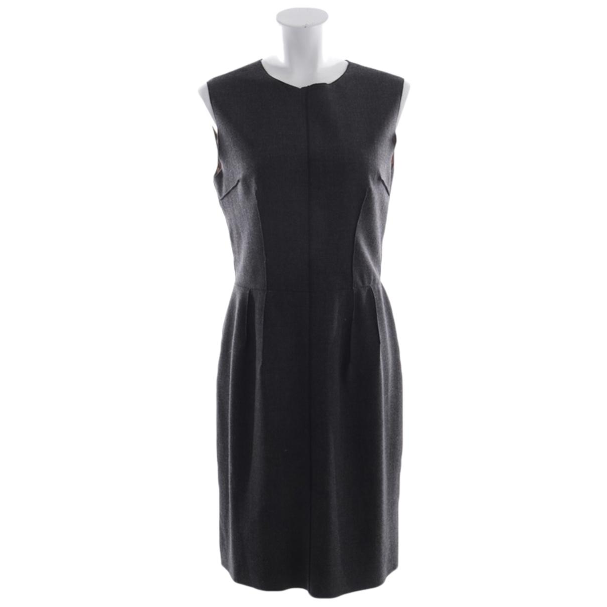 Dolce & Gabbana \N Grey Cotton dress for Women 38 FR