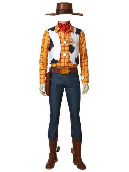 Milanoo Toy Story Woody Carnival Cosplay Costume