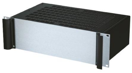 METCASE Combimet 3U 19-Inch Floor Cabinet 132.5 x 482.6 x 265mm, Black