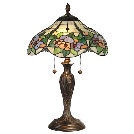 Dale Tiffany Chicago Table Lamp, One Size , Multiple Colors