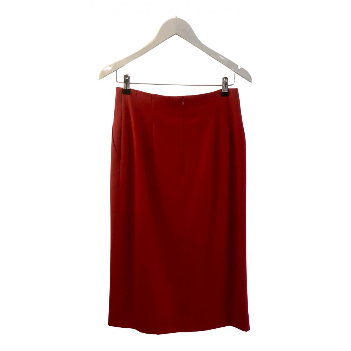 Escada - Jupe   pour femme en laine - rouge