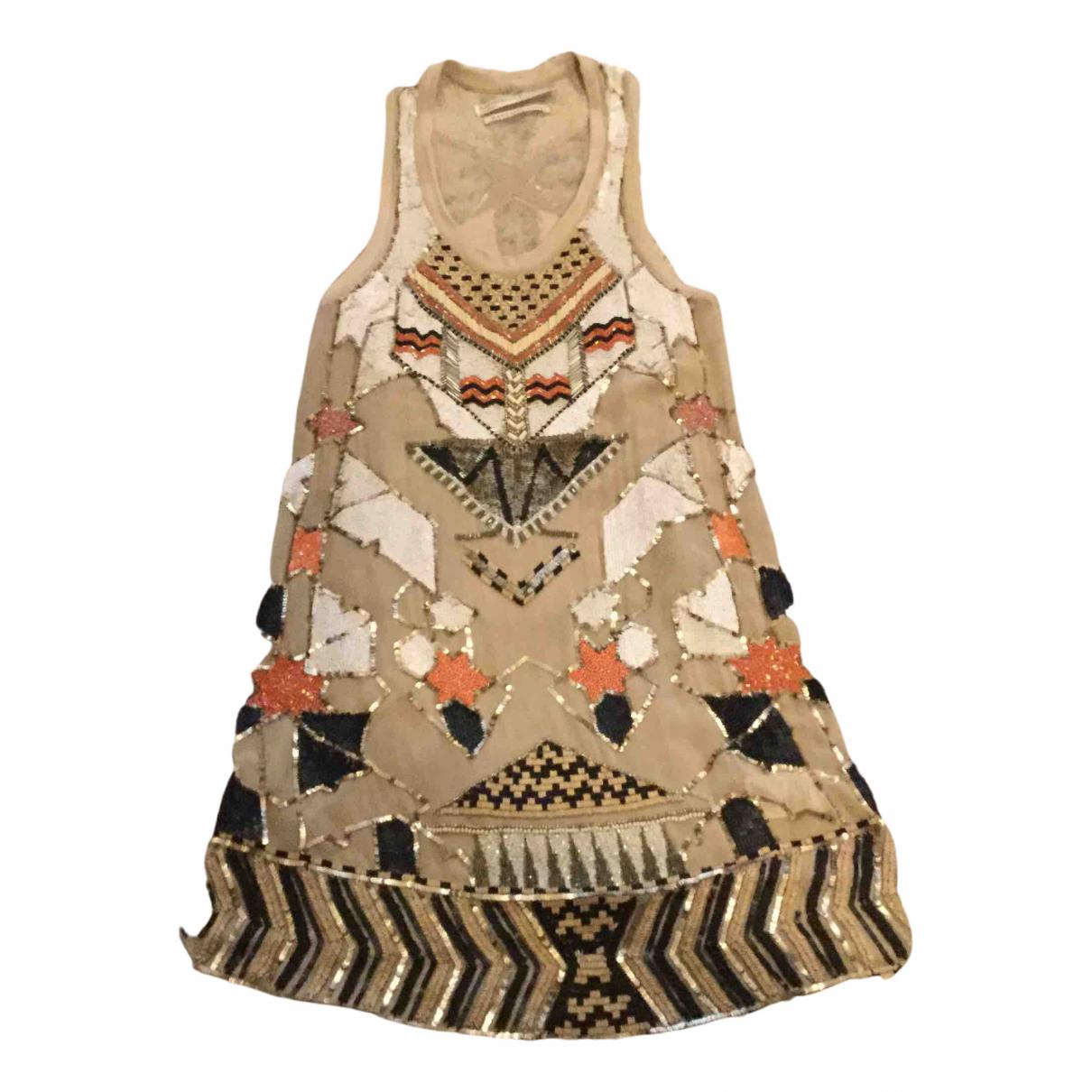 Mini vestido de Con lentejuelas All Saints
