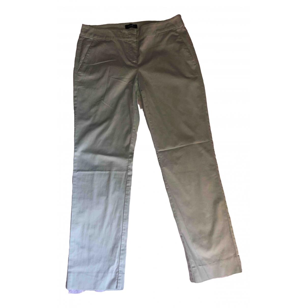 Pantalon en Algodon Turquesa Max & Co