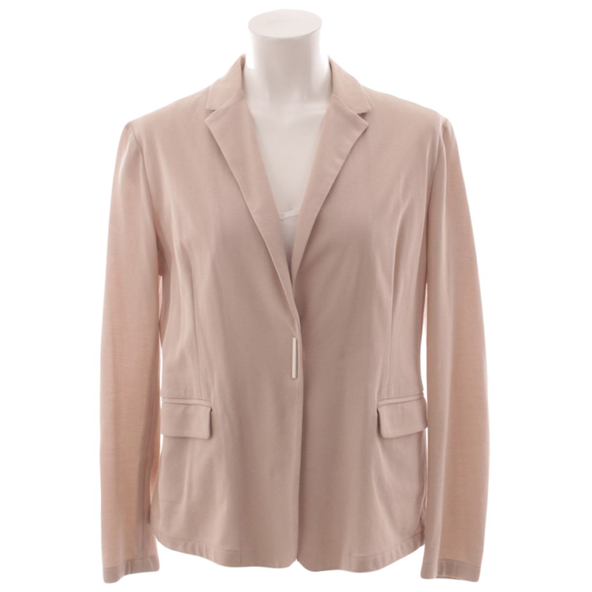 Fabiana Filippi N Brown Cotton jacket for Women 42 IT