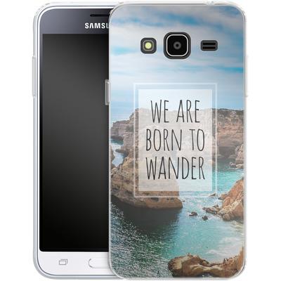 Samsung Galaxy J3 (2016) Silikon Handyhuelle - Born to Wander von Joel Perroden