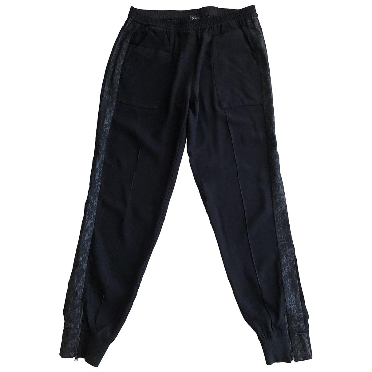 The Kooples \N Black Trousers for Women 40 FR