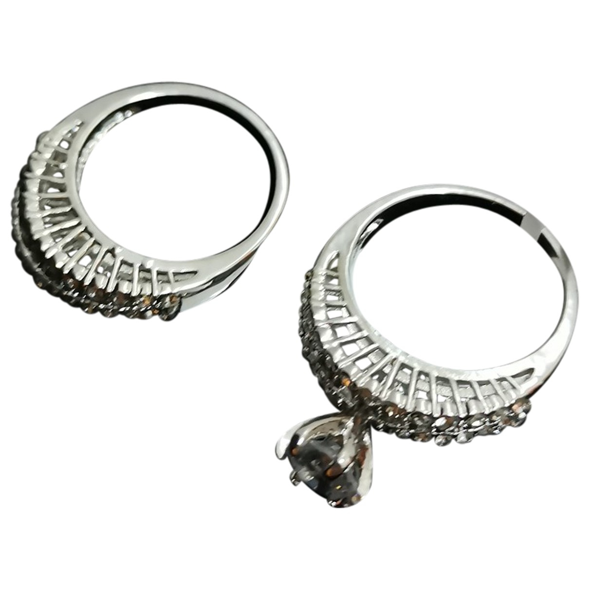Non Signé / Unsigned N Silver Silver ring for Women 6 US
