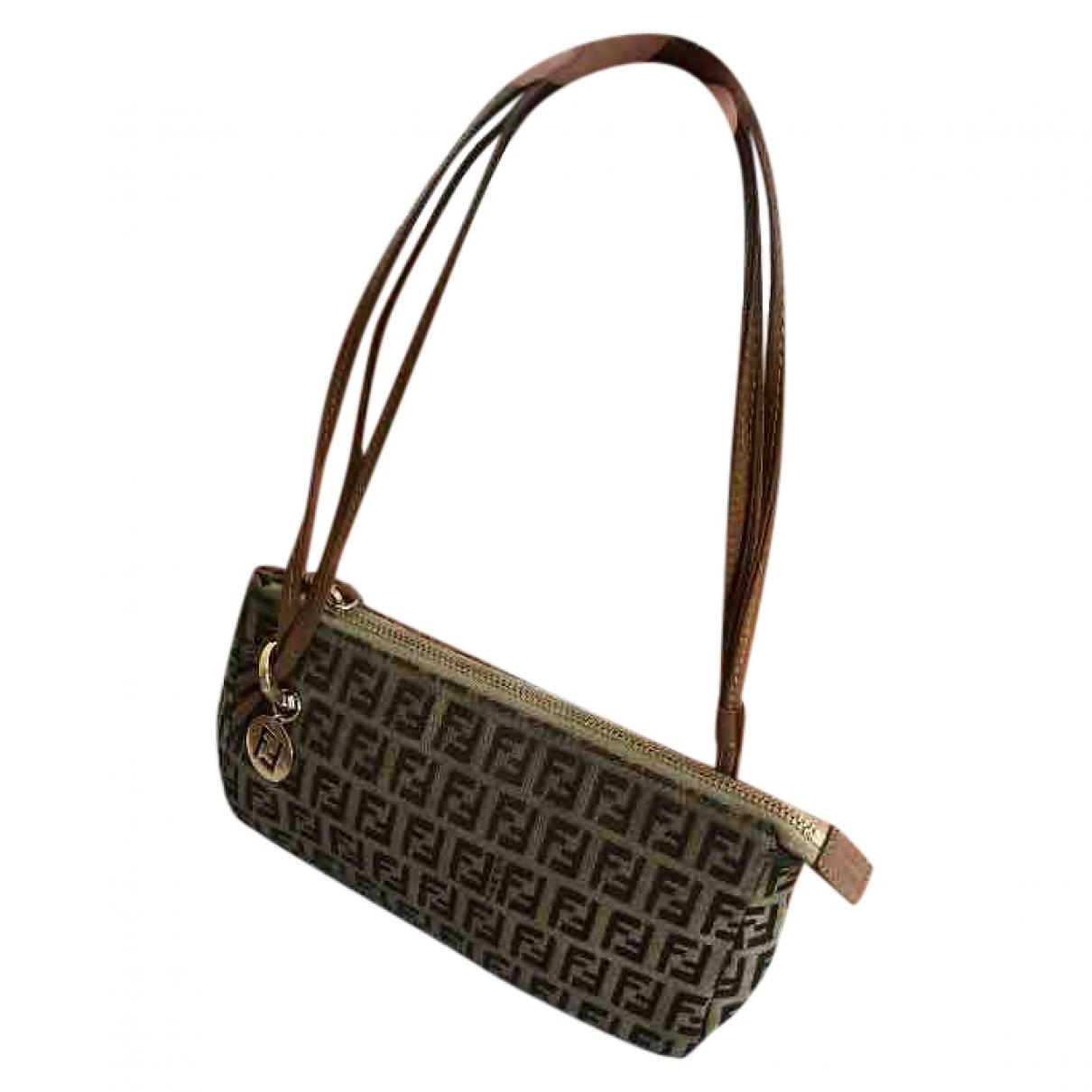 Fendi \N Beige Cloth Clutch bag for Women \N