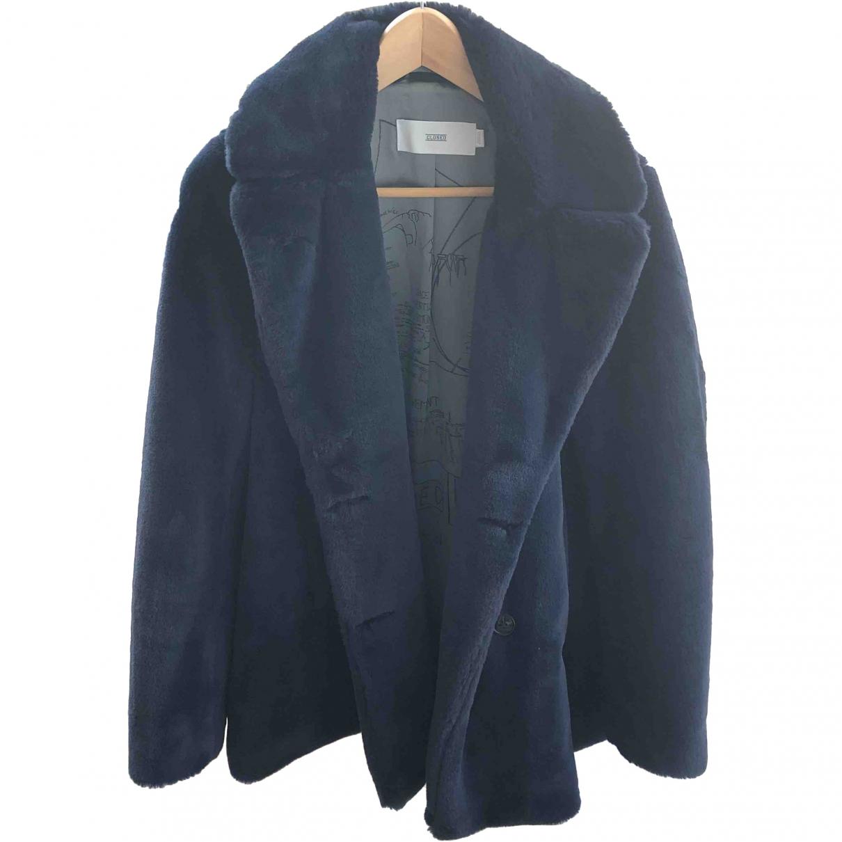 Closed \N Blue Faux fur jacket for Women 40 FR