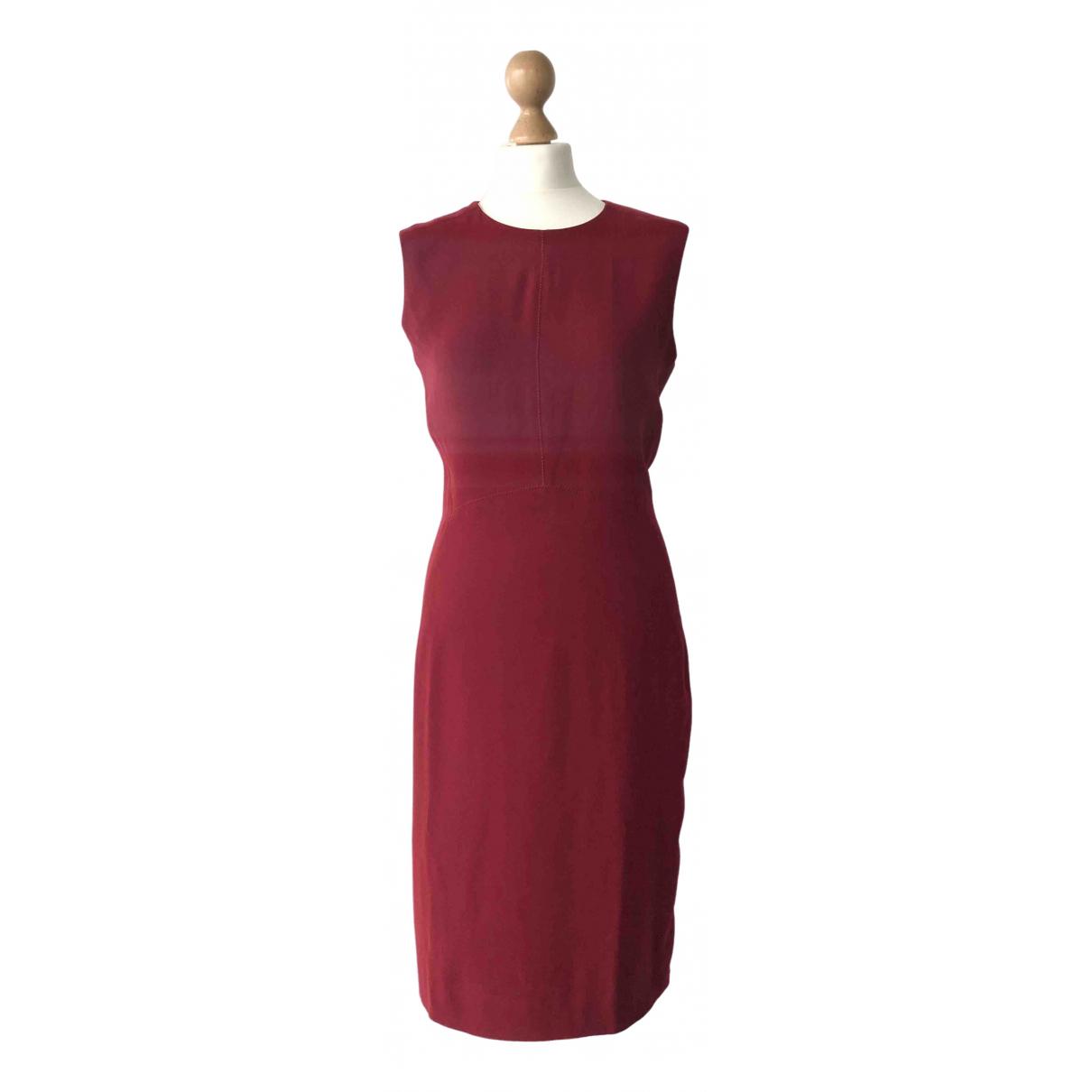Joseph \N Kleid in  Bordeauxrot Synthetik