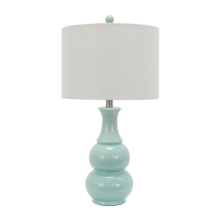 Decor Therapy Ceramic Table Lamp, One Size , Blue