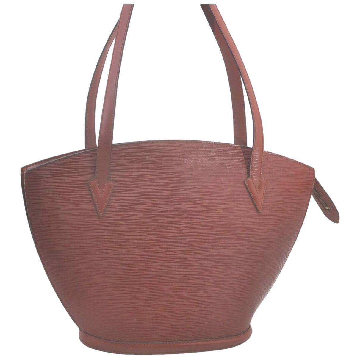 Louis Vuitton Saint Jacques Brown Leather handbag for Women \N