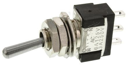 KNITTER-SWITCH SPDT Toggle Switch, Latching, Panel Mount