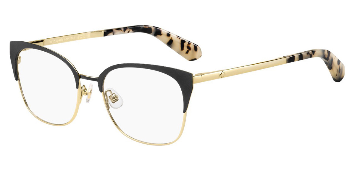 Kate Spade Kalie 807 Women's Glasses Black Size 51 - Free Lenses - HSA/FSA Insurance - Blue Light Block Available