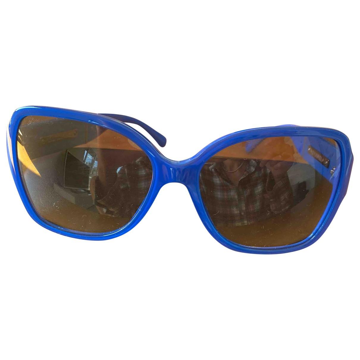 Chanel - Lunettes   pour femme - bleu