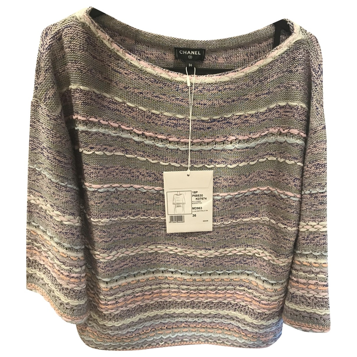 Chanel \N Multicolour Silk Knitwear for Women 36 FR