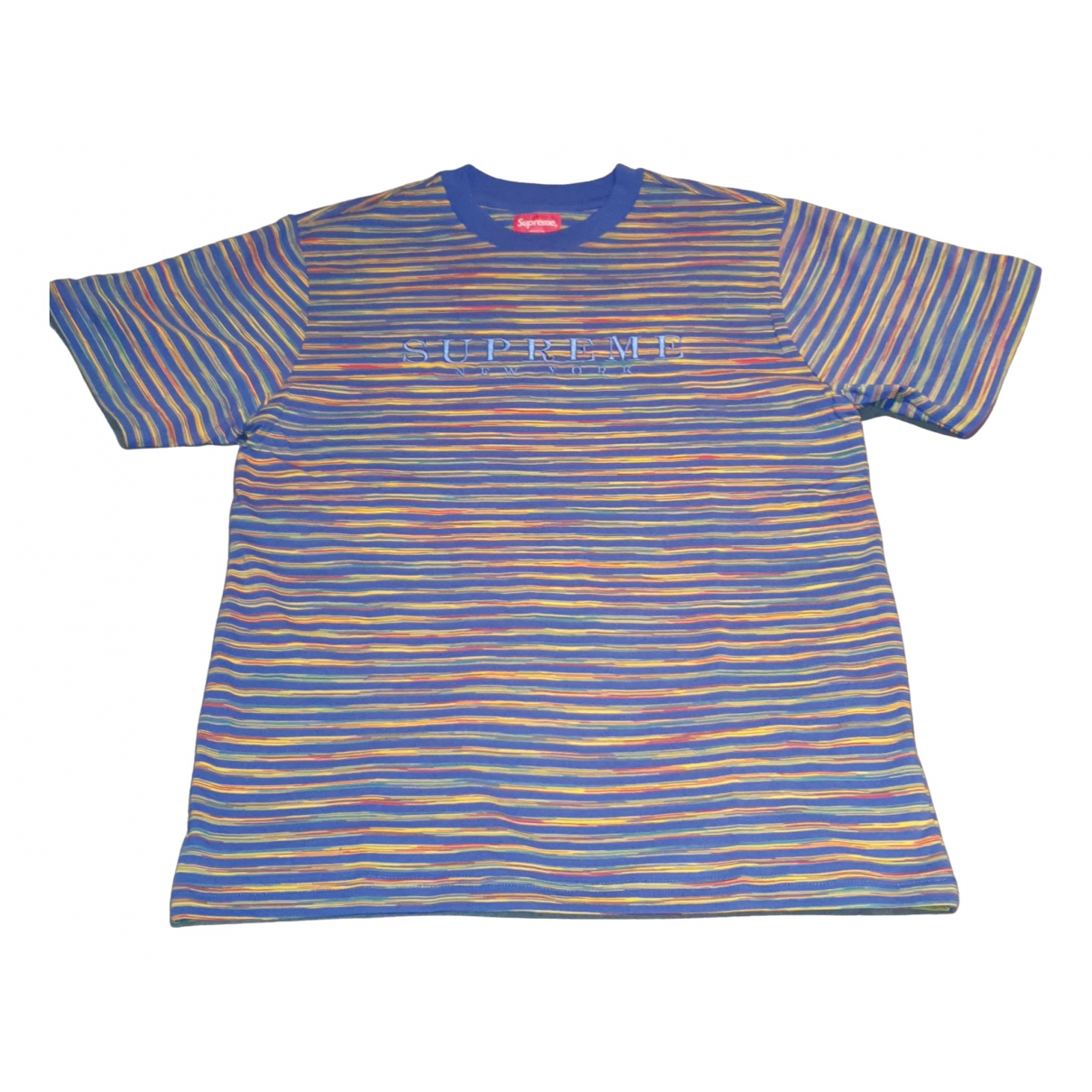 Supreme \N Blue Cotton T-shirts for Men S International