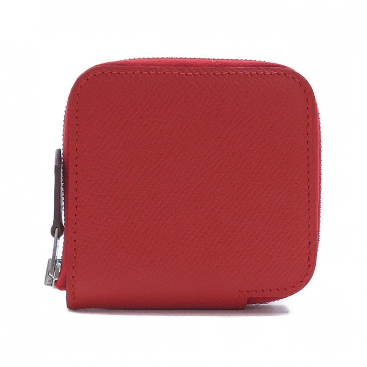 Hermes Azap Kleinlederwaren in  Rot Leder