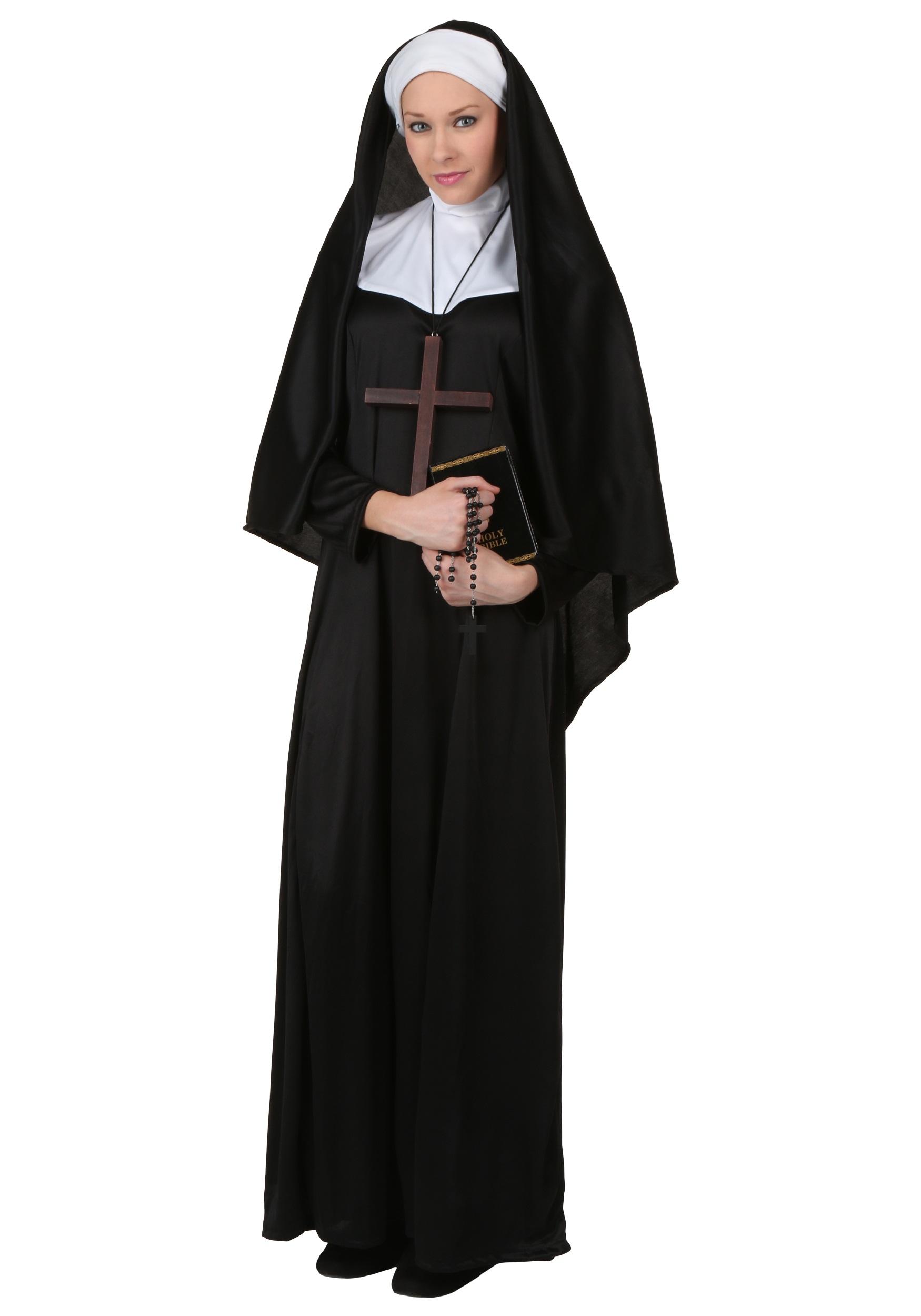 Traditional Adult Nun Costume