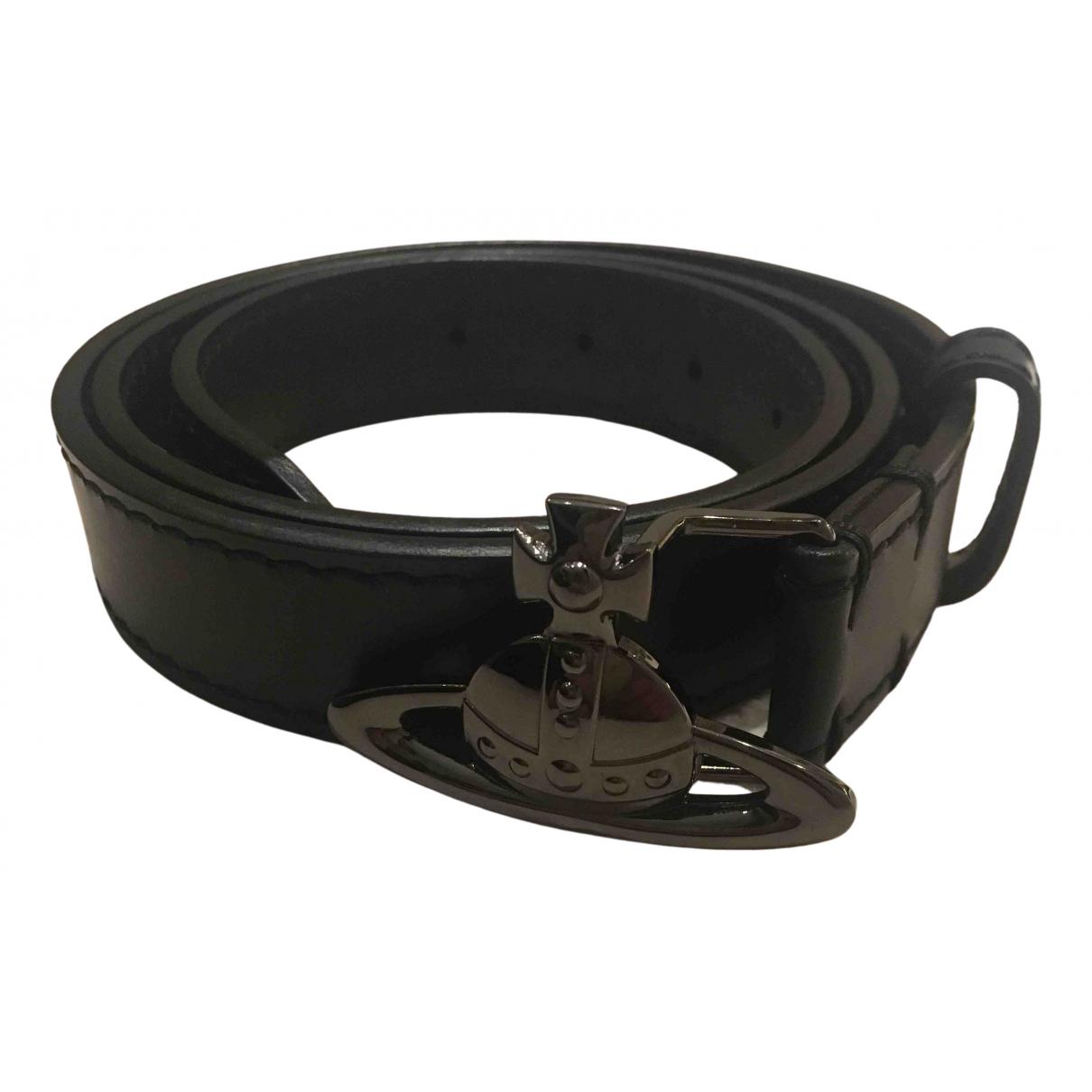 Cinturon de Cuero Vivienne Westwood