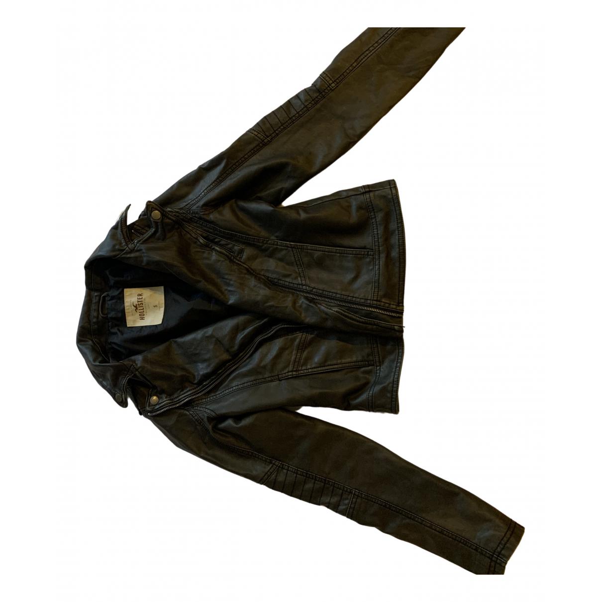 1 Et 1 Font 3 N Black Leather Leather jacket for Women S International