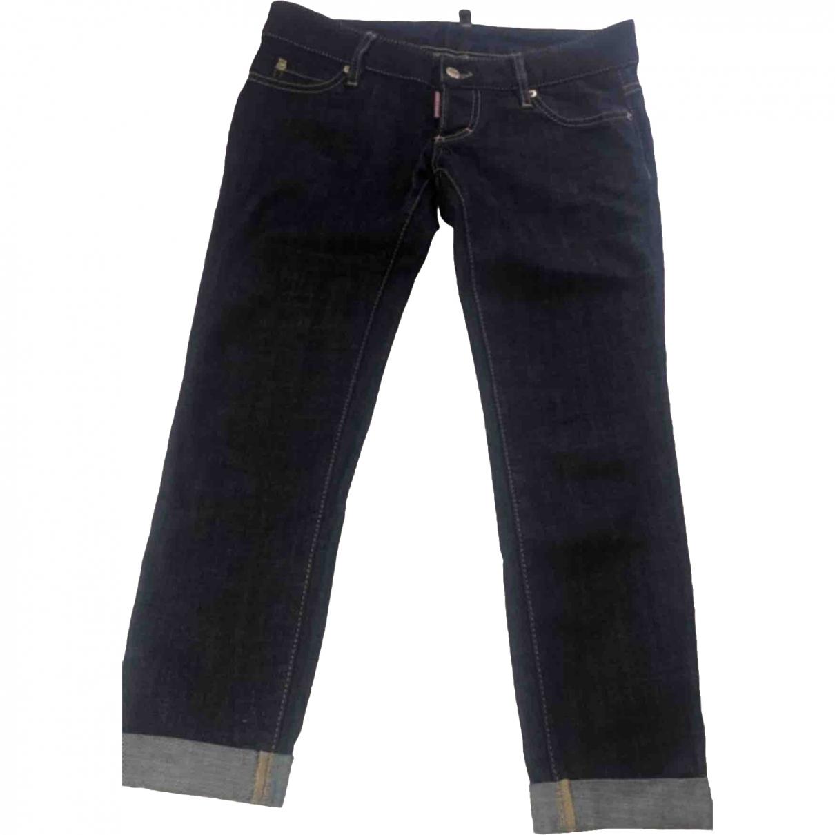 Dsquared2 - Jean   pour femme en coton - bleu