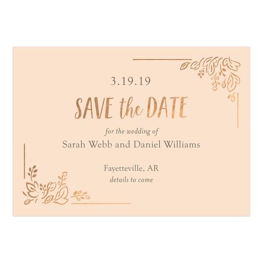 Gartner Studios® Personalized Spontaneous Gratitude Flat Wedding Save The Date   Michaels®