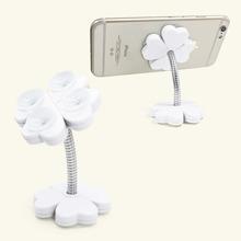Four-leaf Clover Sucker Design Phone Holder