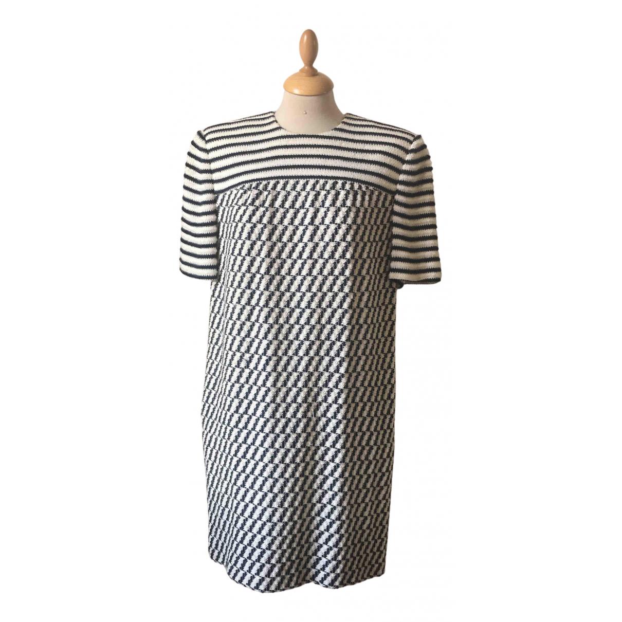 - Robe   pour femme en laine - blanc