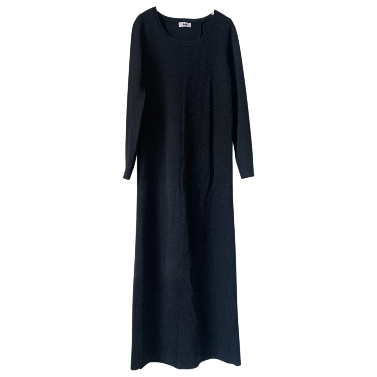 Acne Studios N Black Wool dress for Women 36 FR