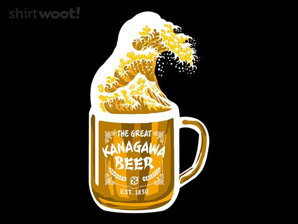 The Great Kanagawa Beer T Shirt