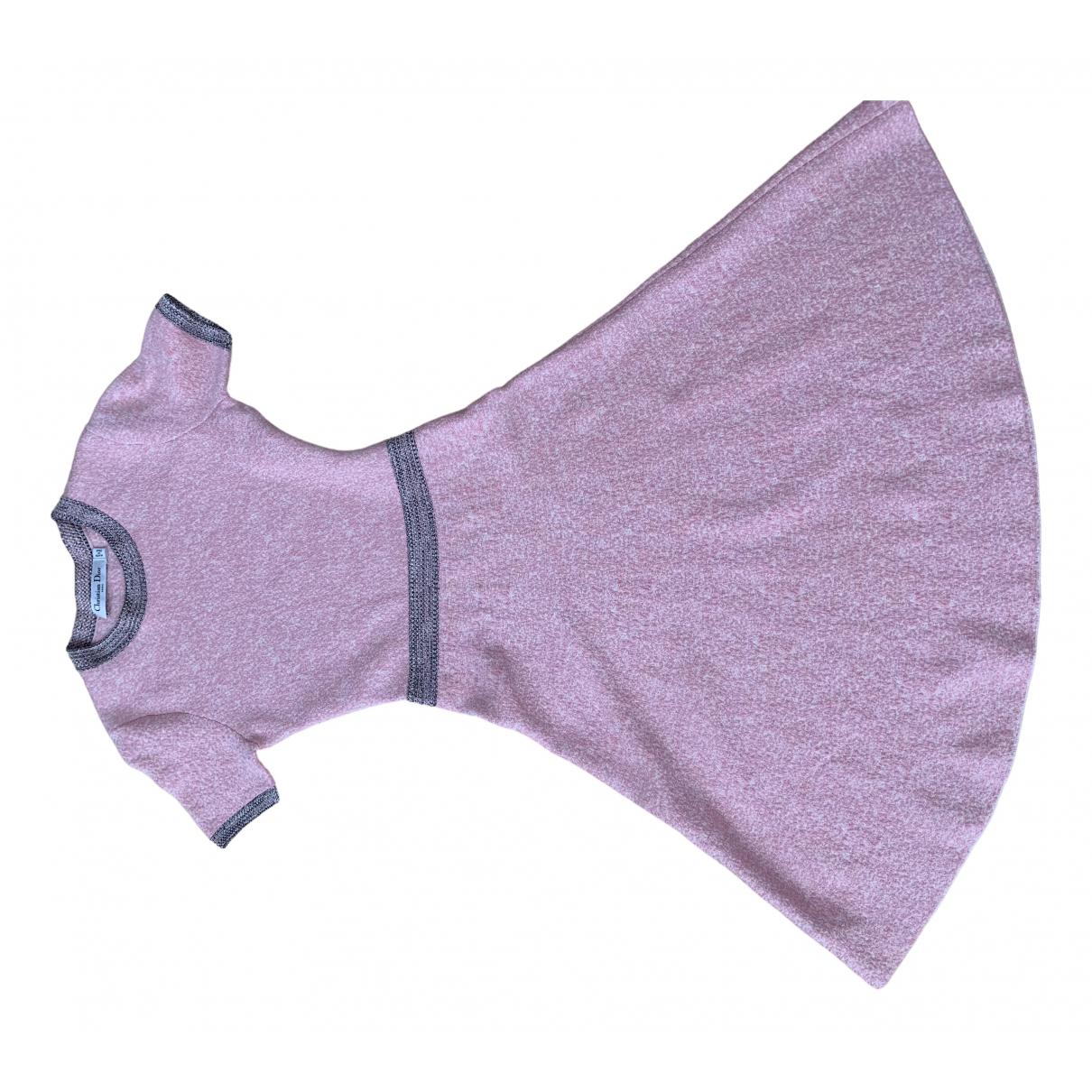 Dior - Robe   pour femme en soie - rose