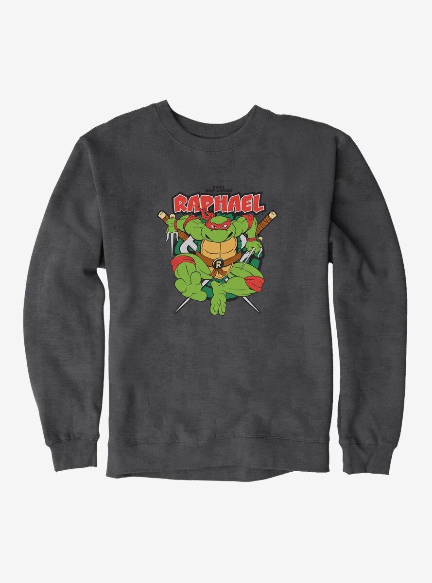 Teenage Mutant Ninja Turtles Raphael Cool But Crude Sweatshirt