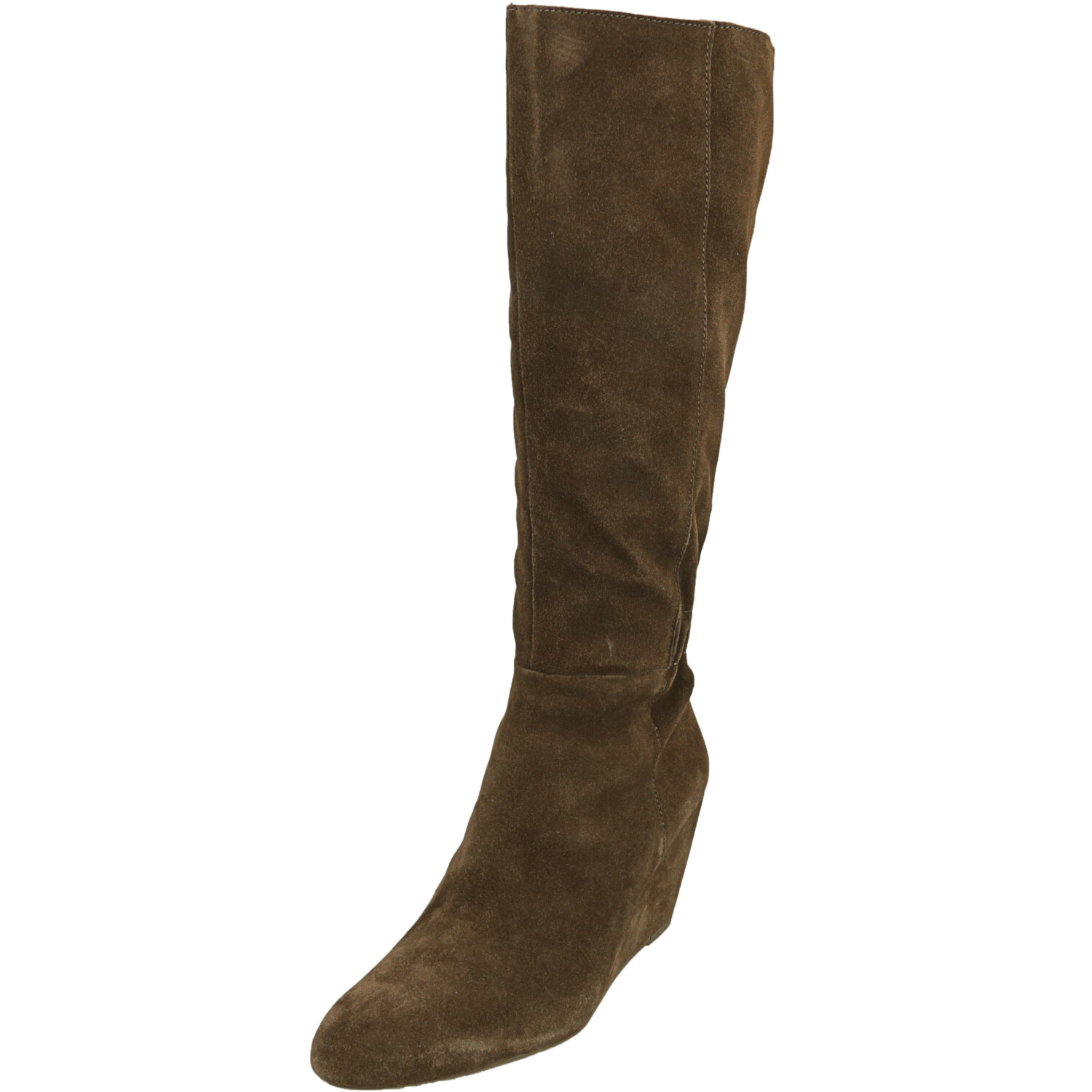 Seychelles Women's Star Of The Show Suede Chocolate Knee-High Leather Boot - 9M