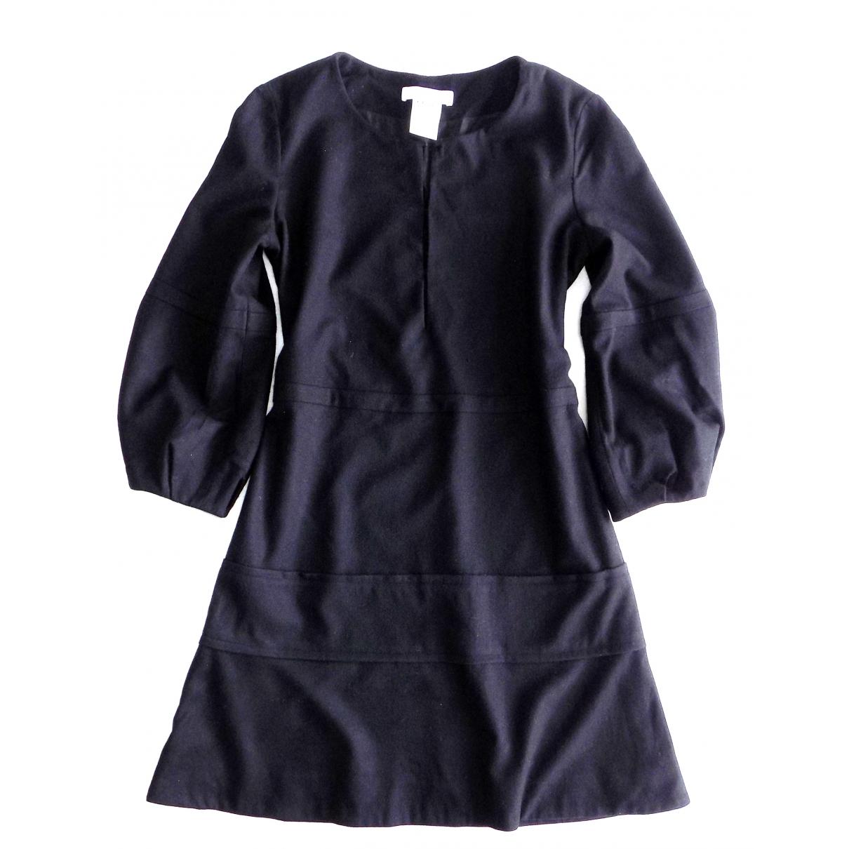 Chloe \N Kleid in  Schwarz Wolle