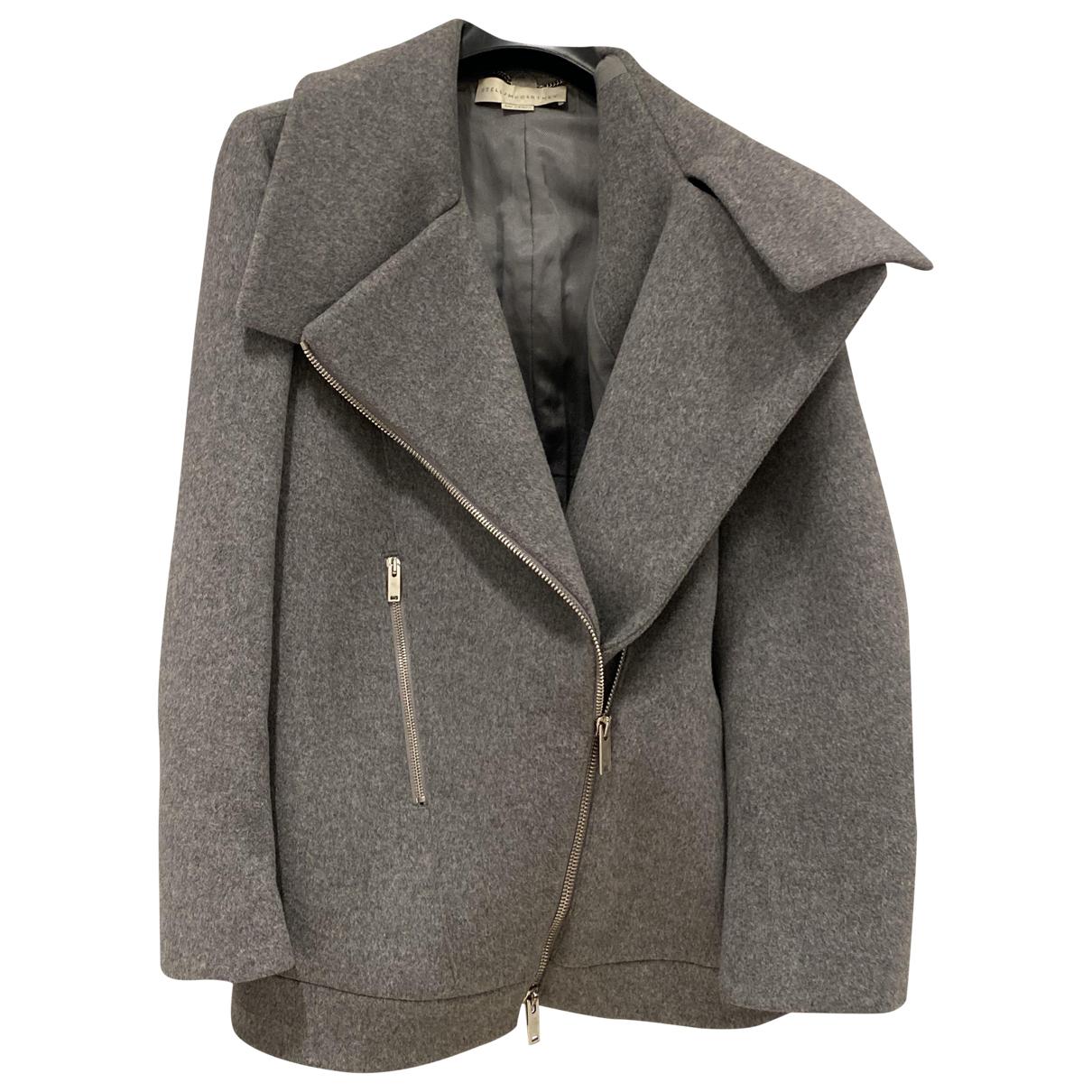 Stella Mccartney - Manteau   pour femme en laine - gris