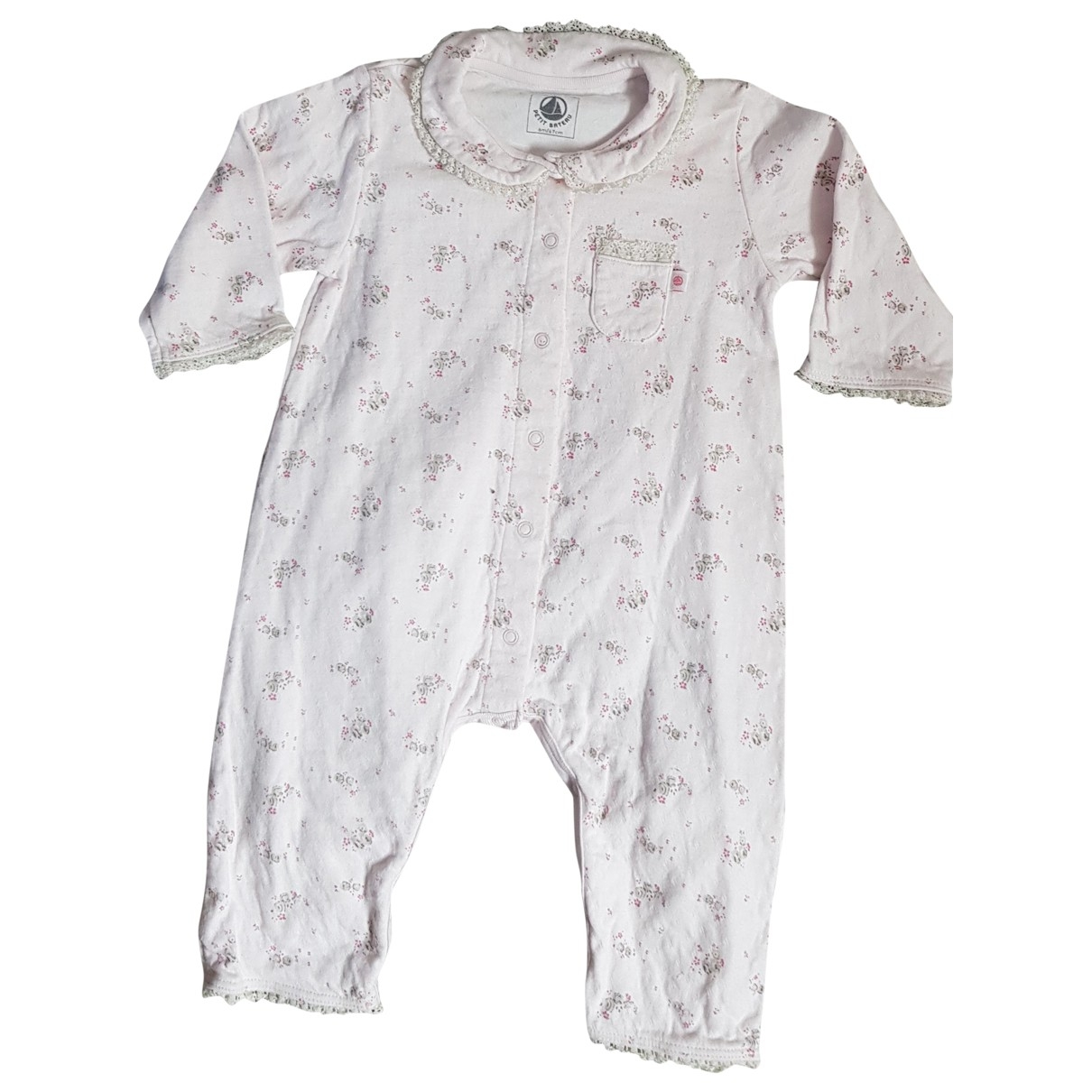Petit Bateau \N Pink Cotton Outfits for Kids 6 months - up to 67cm FR