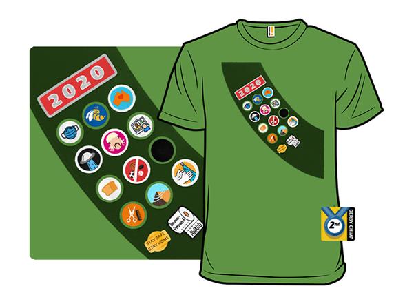 Summer Scouts 2020 T Shirt