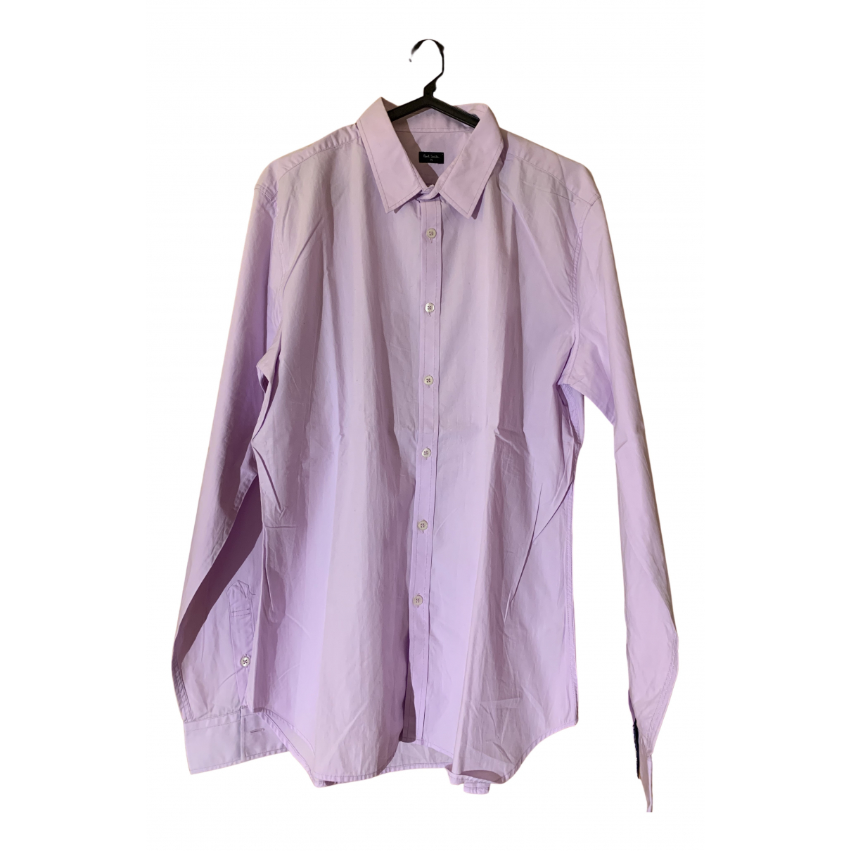 Paul Smith N Pink Cotton Shirts for Men L International